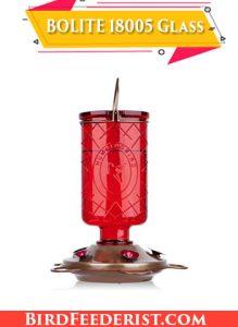 BOLITE 18005 best glass hummingbird feeder