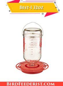 Best-1 32oz best glass hummingbird feeder