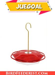Juegoal 16 oz Hanging Hummingbird Feeder with Ant Moat