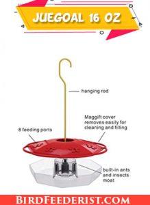 Juegoal 16 oz hummingbird feeder