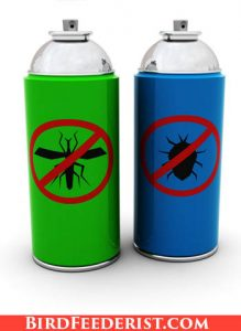 Insecticides spray