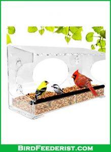 Nature Gear XL Window Bird Feeder review