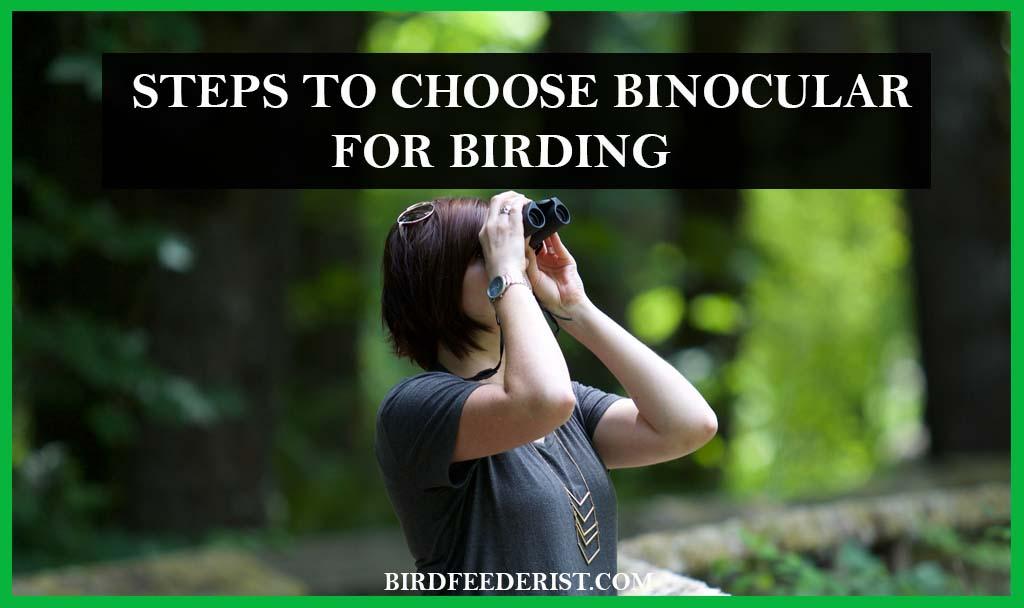 steps to choose Binocular