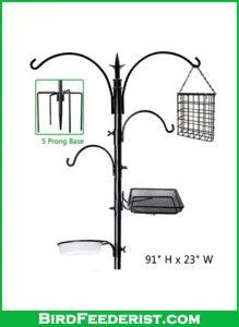 yosager-91-x-23 Premium Bird-Feeder poles station kit