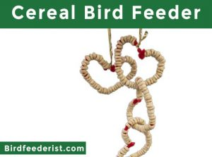 Cereal Bird Feeder